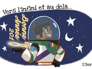 Une bonne année spatiale avec Stéphane Bertaud