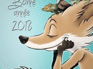 Le renard d'Emeline Chan vous souhaite une bonne année